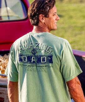 Short-Sleeve Number 1 Dad Money Crew T-shirt