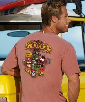 Short-Sleeve Backdoor Tavern Chile Crew T-shirt