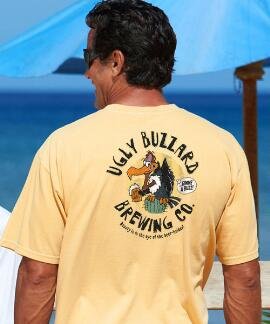 Short-Sleeve Ugly Buzzards Pale Ale Crew T-shirt
