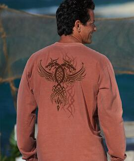 Long-Sleeve Sign Of The Dragon Chile Classic Crew