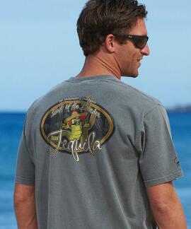 Short-Sleeve Juan Tequila Crater Crew T-shirt