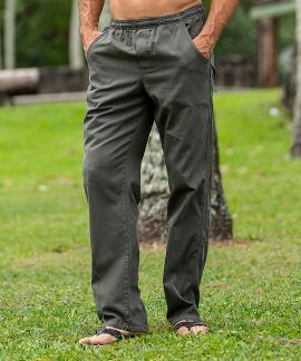 Hunter Green Twill Pant