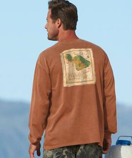 Long-Sleeve Maui Valley Isle Rum Classic Crew