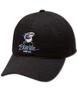 Sharka Surf Co. Black Twill Hat