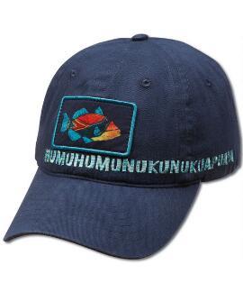 Humu Kalakoa Navy Twill Hat