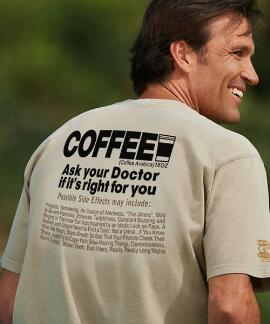 Short-Sleeve Coffee Rx Kona Coffee Crew T-shirt