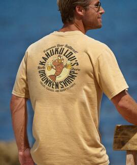 Short-Sleeve Kahuku Lou's Pale Ale Crew T-shirt