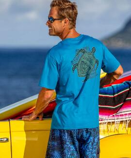 Short-Sleeve Keola Honu Pacific Crew
