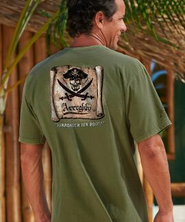 Short-Sleeve Surrender Booty Hemp Crew T-shirt