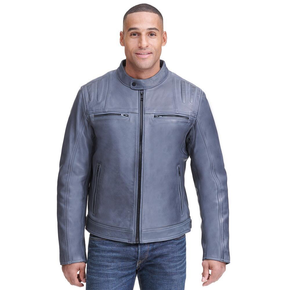 Wilsons leather motorcycle jacket